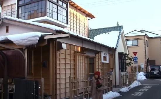 Căn nhà phong cách hoài cổ ở Nhật Bản
