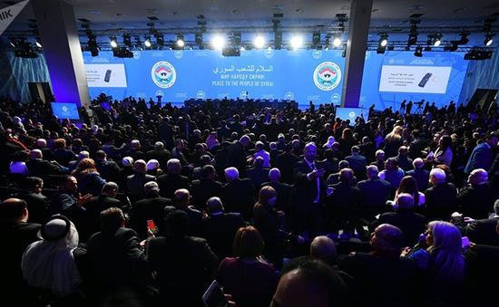 Đại hội Đối thoại Dân tộc Syria thông qua 3 văn kiện