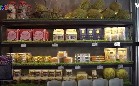Quán cà phê chuyên bán các món từ sầu riêng ở Singapore