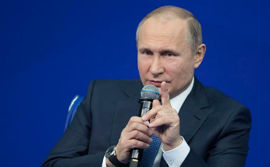 """Tổng thống Nga chỉ trích """"Báo cáo Kremlin"""" của Mỹ"""