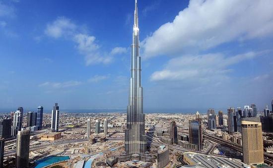 Kinh ngạc trước những con số kỷ lục của tòa tháp chọc trời giữa Dubai