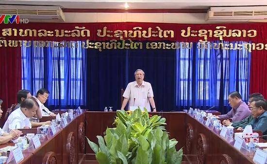 Tăng hợp tác giữa Vientiane và các địa phương Việt Nam
