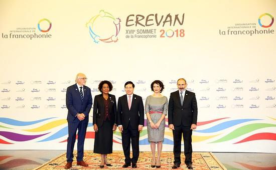 Đông đảo nguyên thủ tham dự làm nên thành công Hội nghị Cấp cao Pháp ngữ 17