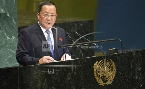Triều Tiên khẳng định nỗ lực phi hạt nhân hóa