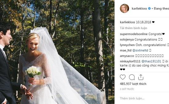 Thiên thần của Victoria's Secret bí mật kết hôn
