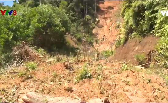 Quảng Nam: Chậm khắc phục đường miền núi hư hỏng
