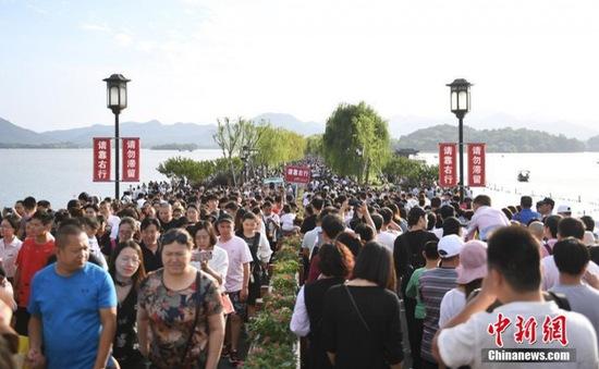 Tuần lễ vàng của ngành du lịch Trung Quốc