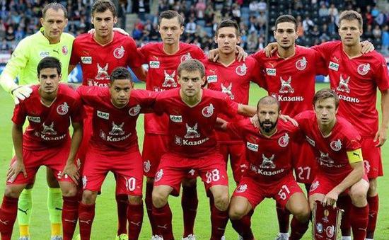 Rubin Kazan bị cấm tham dự Cúp châu Âu trong 2 mùa giải liên tiếp