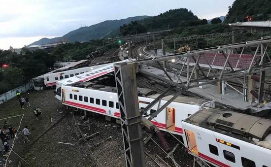 Lật tàu cao tốc ở Đài Loan (Trung Quốc), ít nhất 17 người thiệt mạng