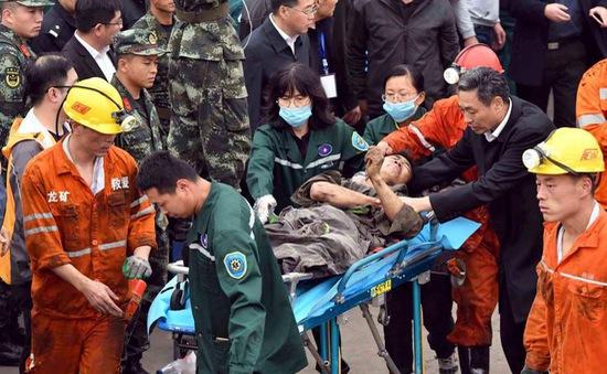 Trung Quốc chạy đua với thời gian giải cứu 18 thợ mỏ mắc kẹt trong hầm