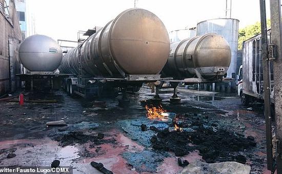 Mexico: Cháy nổ nhà máy rượu, hàng nghìn người dân phải sơ tán