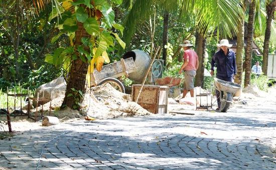 Đà Nẵng: Dự kiến hoàn thành lối xuống biển đầu tiên vào ngày 10/12