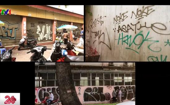 Những hình vẽ Graffiti khiến nhiều người ngán ngẩm