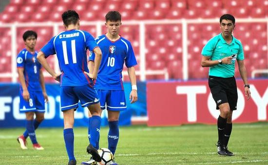 Lịch thi đấu và trực tiếp U19 châu Á 2018 ngày 24/10: U19 Indonesia - U19 UAE, U19 Qatar - U19 Đài Bắc Trung Hoa