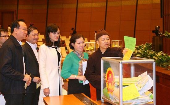 48 chức danh sẽ được Quốc hội lấy phiếu tín nhiệm