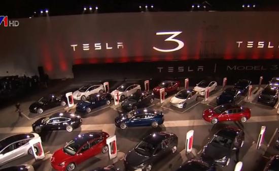 Cổ phiếu Tesla tăng mạnh sau công bố lợi nhuận quý III