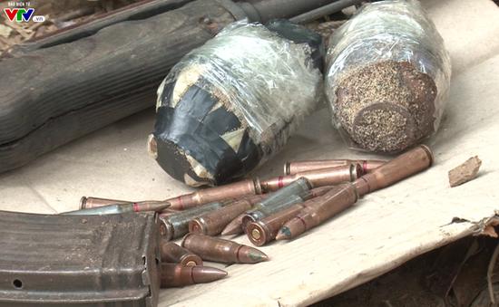 Nghệ An: Triệt phá đường dây ma túy  sử dụng vũ khí nóng