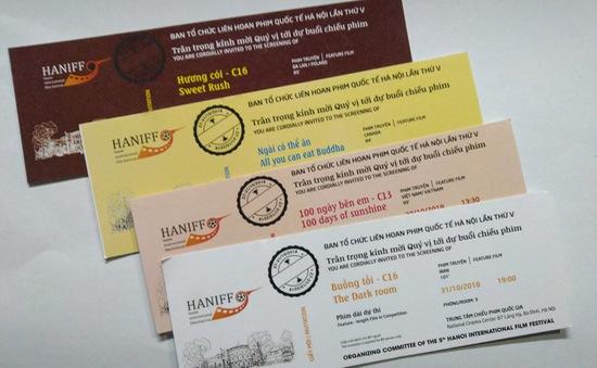 Cơ hội nhận vé xem phim miễn phí tại LHP Quốc tế Hà Nội lần thứ V
