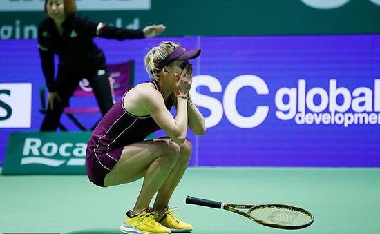 Thắng ngược Stephens, Svitolina vô địch WTA Finals 2018