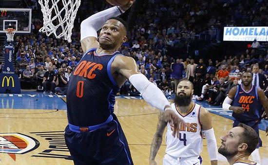 Oklahoma City Thunder có chiến thắng đầu tiên tại mùa giải mới