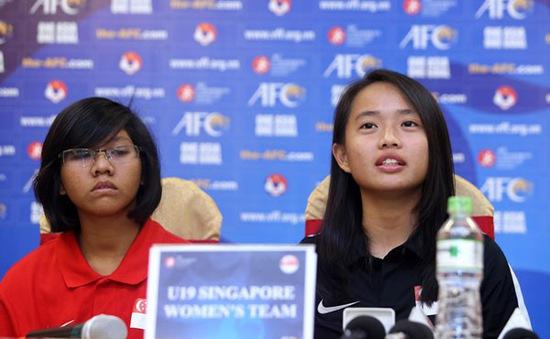 HLV trưởng U19 nữ Singapore bày tỏ sự ngưỡng mộ với U19 nữ Việt Nam