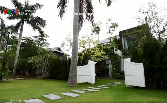 Sân vườn trên mái - Giải pháp để ngôi nhà luôn xanh mát