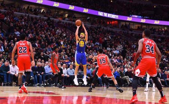 Klay Thompson phá kỷ lục 3 điểm tại NBA