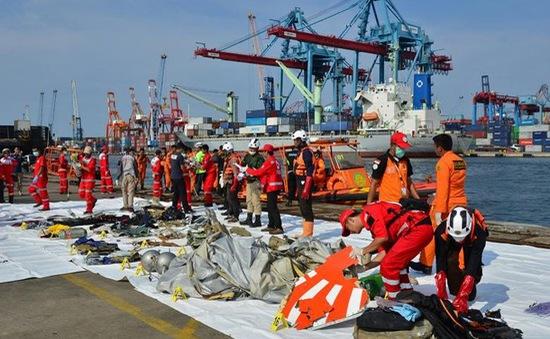 44 thợ lặn tham gia tìm kiếm nạn nhân vụ rơi máy bay ở Indonesia