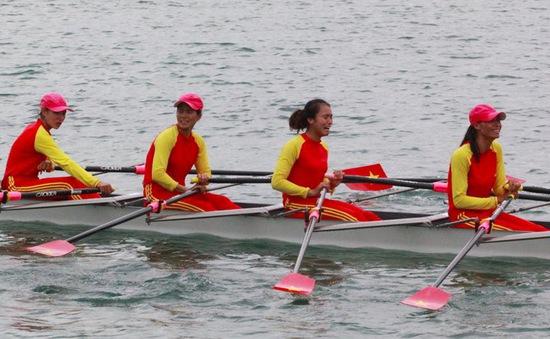 ĐT Rowing Việt Nam chuẩn bị cho giải quốc tế cuối cùng năm 2018