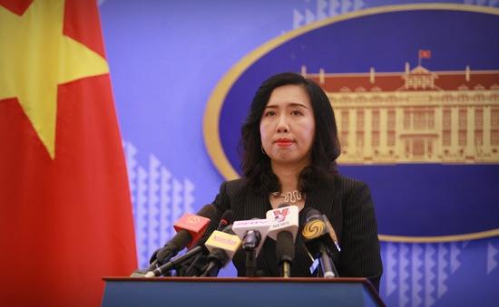 Phản ứng của Việt Nam về các diễn biến gần đây trên Biển Đông