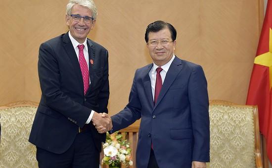 Khuyến khích doanh nghiệp Việt Nam - Pháp hợp tác kinh doanh