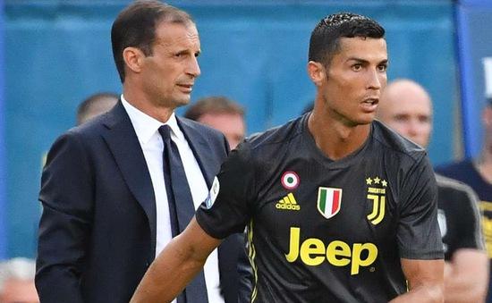 HLV Juventus ra phán quyết về Ronaldo giữa nghi án hiếp dâm