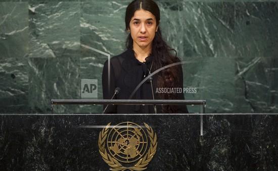 """Công chiếu """"On Her Shoulders"""" - Bộ phim về nữ chủ nhân giải Nobel Hòa bình 2018"""