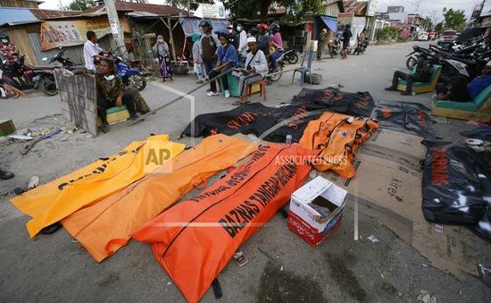 Ngày 11/10, Indonesia ngừng tìm kiếm nạn nhân mất tích trong vụ động đất và sóng thần