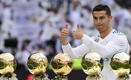 Ronaldo bất ngờ lập kỷ lục dù không giành Ballon d'Or 2018