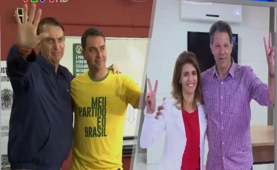 Kết quả sơ bộ bầu cử Tổng thống Brazil: Ứng cử viên cánh hữu đang dẫn đầu