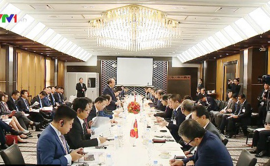 Thủ tướng tọa đàm với các doanh nghiệp bất động sản Nhật Bản