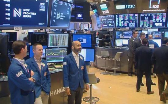 Thị trường phố Wall giảm điểm phiên đầu tuần