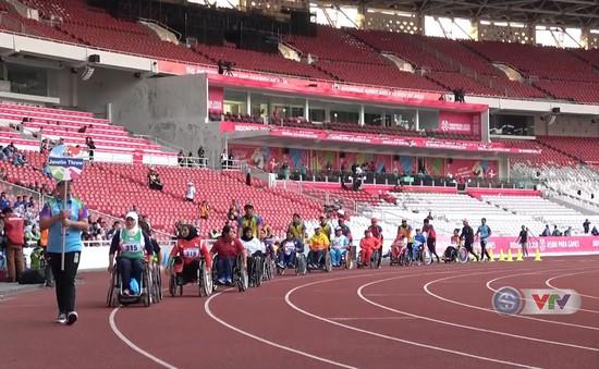 ASIAN Para Games 2018: Ngày thi đấu thứ 2 của ĐT điền kinh người khuyết tật Việt Nam