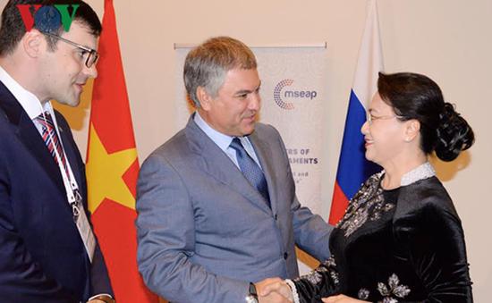 Chủ tịch Quốc hội hội kiến Chủ tịch Duma Quốc gia Nga