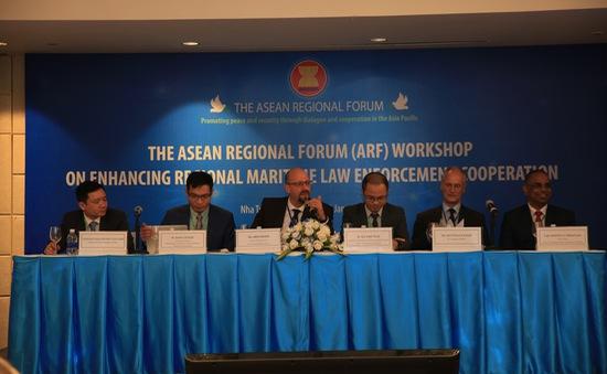 Tiếp tục duy trì đối thoại về hợp tác thực thi pháp luật trên biển trong khuôn khổ ARF