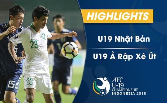 VIDEO: Tổng hợp diễn biến U19 Nhật Bản 0–2 U19 Ả Rập Xê Út (Bán kết U19 châu Á 2018)