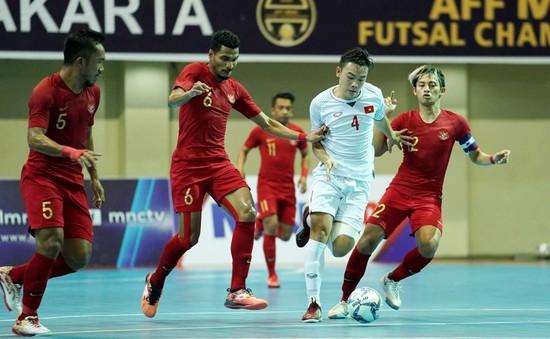 ĐT futsal Việt Nam thua chủ nhà Indonesia ở trận tranh HCĐ futsal AFF 2018