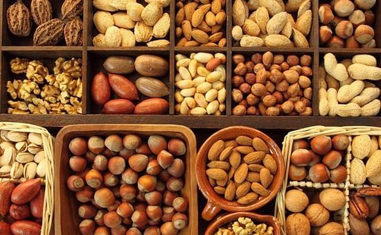 Giảm cân, giữ sức khỏe nhờ các loại hạt