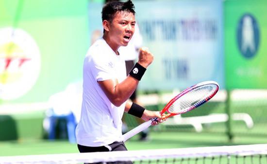 Tay vợt Lý Hoàng Nam lần đầu lọt vào top 400 thế giới