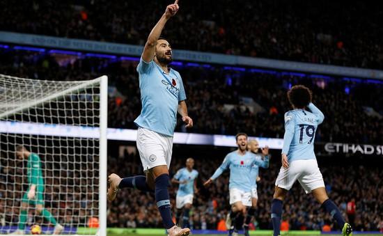 """Màn """"thêu hoa dệt gấm"""" của Man City ở derby Manchester vẫn chưa phải kỷ lục!"""