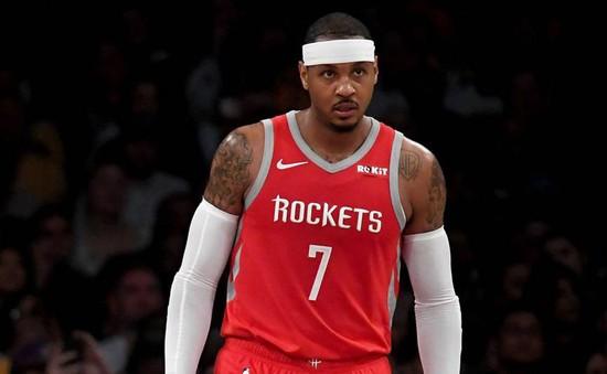Carmelo Anthony sắp chia tay Houston Rockets?