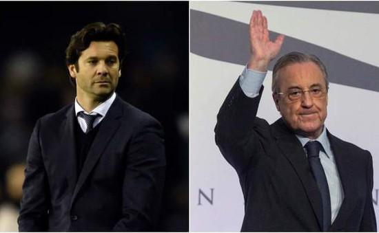Chủ tịch Real Madrid tin HLV Solari sẽ thành Zidane mới