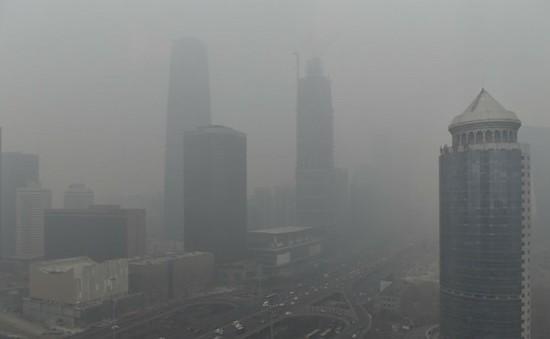 Báo động vàng về ô nhiễm không khí tại Bắc Kinh