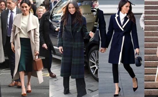 Diện đồ mùa đông phong cách Hoàng gia như Công nương Meghan Markle
